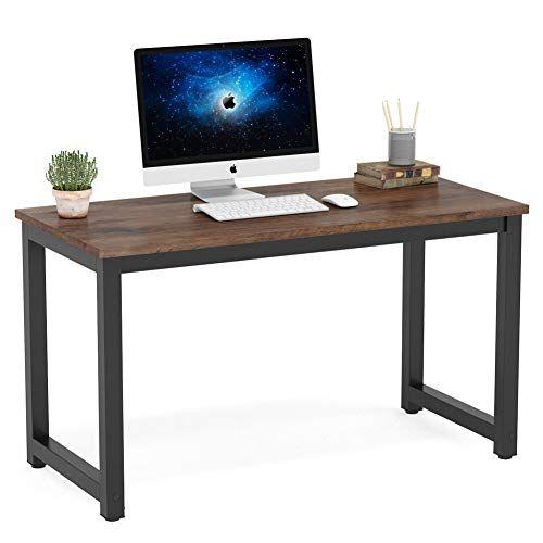 J/&M Computer Desk PC Laptop Table Workstation Study Home Office Wood Furniture