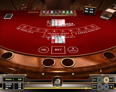 """""""3 Card Baccarat"""" is fast to play and comes with a different table layout than """"Punto Banco"""" or conventional """"Baccarat"""". """"3 Card Baccarat"""" is an especially in Asia popular Baccarat variant. In Macao 3 Card Baccarat accounts for approx. 2% of all gaming tables. Register here to play http://casino-goldenglory.com/"""