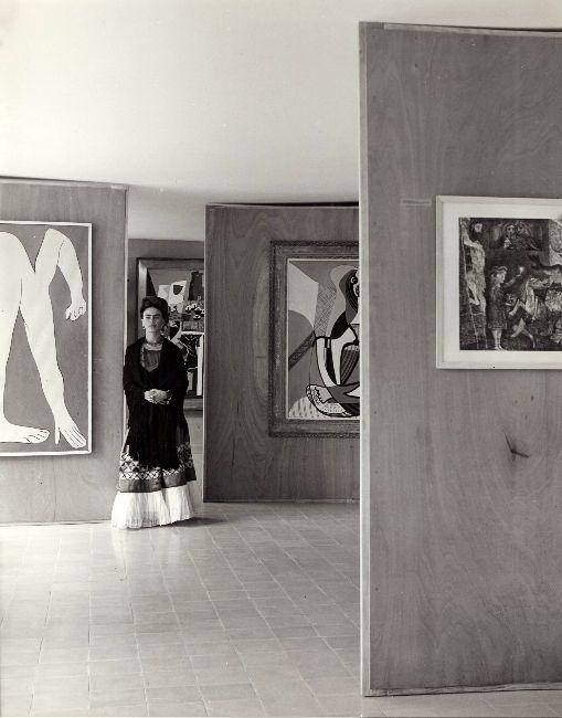 Frida Kahlo at the Museum of Modern Art