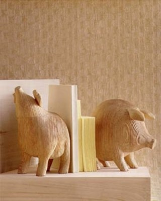 Another set of porker bookends.