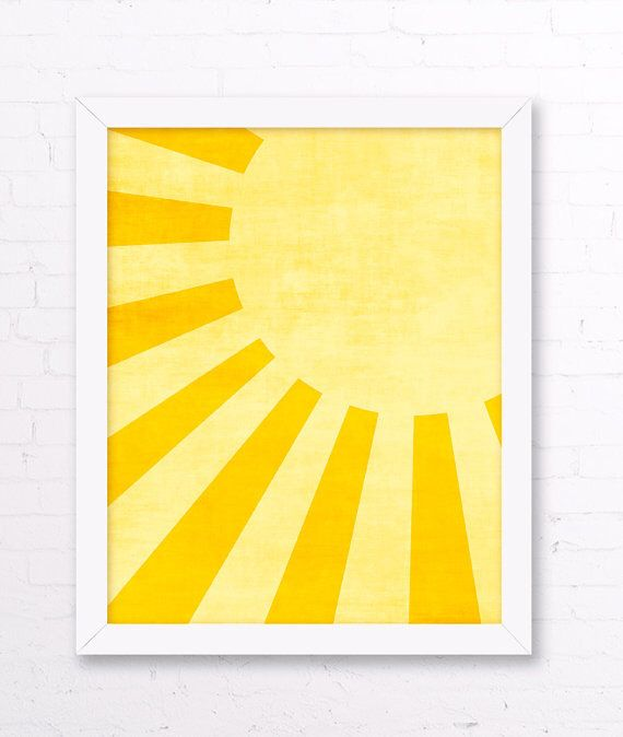 Yellow Sun Wall Decor : Best ideas about yellow kids rooms on grey