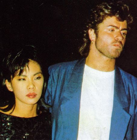 """George Michael and Kathy Jeung she appeared in his video """"I Want Your Sex"""""""