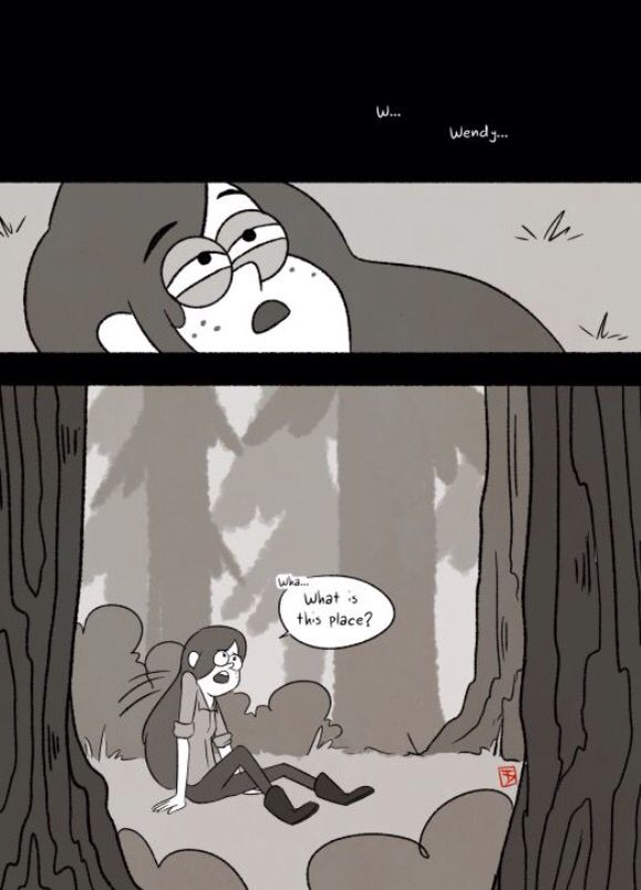 After Dipper Escapes From Pacifica S Punishment Of Jealousy Here Looks For Him Cartoon Picscartoon Artgravity Falls