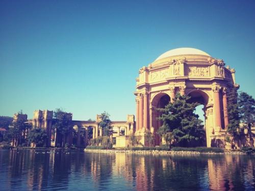 It so pretty here! Palace of Fine Arts, San Francisico California