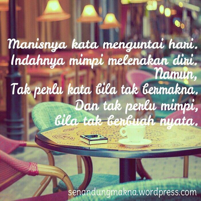 Manis #quotes #puisi #Indonesia