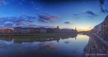 Tramonto pisano.Foto di @giuliaromeni  Follow us on Facebook and in our website www.meteopisa.net  #meteopisa #weather #istapisa #istagram #istagood #picoftheday #spring #primavera #sunset #tramonto #nature #naturelovers #natureshots #naturephotography #nature_perfection #natura #cielo #meteo #love_meteo #italy #italia #igeritalia #photooftheday #toscana #tuscany #pisa #lungarno #river #arno by meteopisa