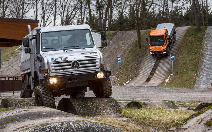 Yes, please!!! - Mercedes-Benz Unimog U4000 First Drive Photo Gallery