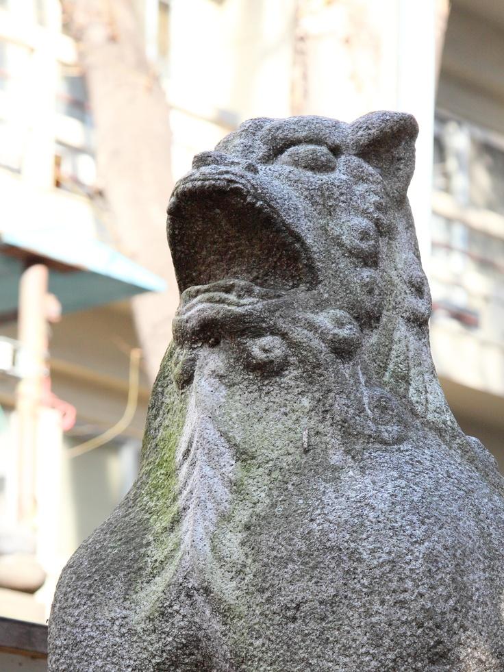 狛犬(鬼王神社)