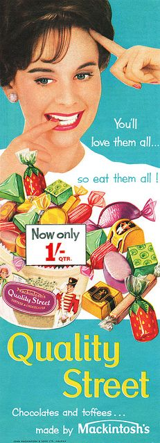 Quality Street advertisement. by totallymystified, via Flickr
