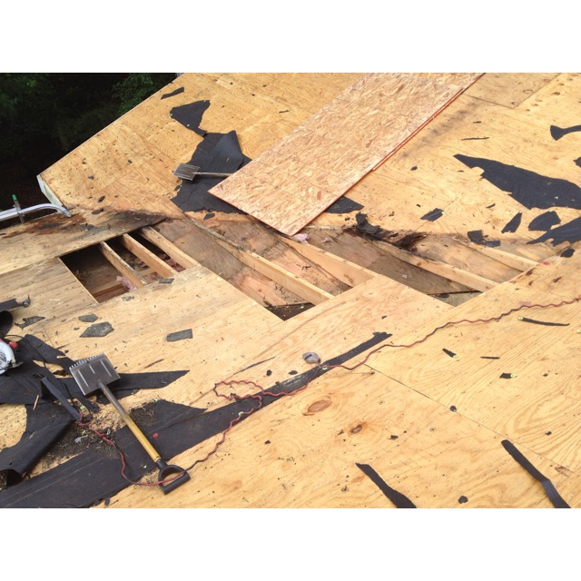 35 best wood rot images on pinterest roof deck rooftop for Roof sheathing material