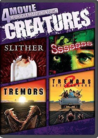 Strother Martin & Kevin Bacon & S.S. Wilson & Bernard Kowalski -4-Movie Midnight Marathon Pack: Creatures