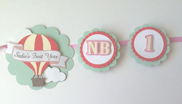 12 Month Photo Banner- first year photo banner, hot air balloon birthday banner, first birthday photo garland by SweetLittlePieces on Etsy https://www.etsy.com/listing/225369862/12-month-photo-banner-first-year-photo