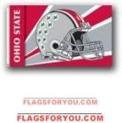 Ohio State Buckeyes 3x5 Single Sided Flag - 2 left