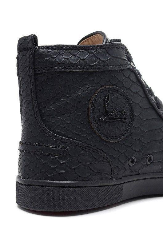 économiser cfc5b a4d14 Chaussure Louboutin Pas Cher Homme Noir4 #redbottomshoes ...