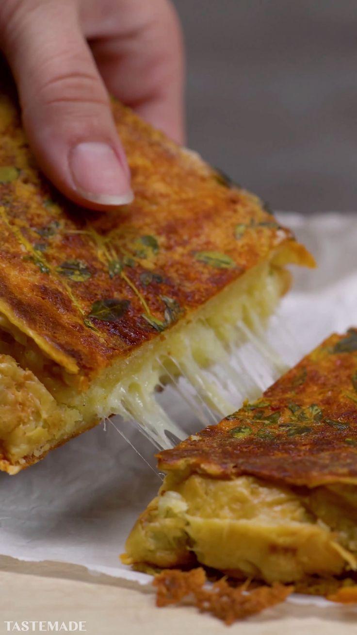 Giant Cheese Scone Toastie