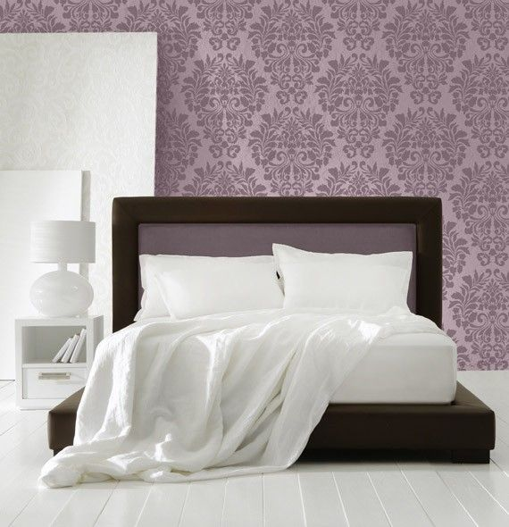 This Fabric Damask Allover stencil is one of our most popular stencil patterns! All of our allover and damask stencil patterns feature an easy stencil registration system, allowing you to repeat these stencils across your wall perfectly every time. Also avaiable in a larger scale here http://www.etsy.com/listing/67421127/large-wall-stencil-pattern-fabric-damask  724 Fabric Damask Allover Stencil Actual Design Size: 15.5 w x 18.5 h, Reusable 10 mil mylar   Decorating with stencils is fast…