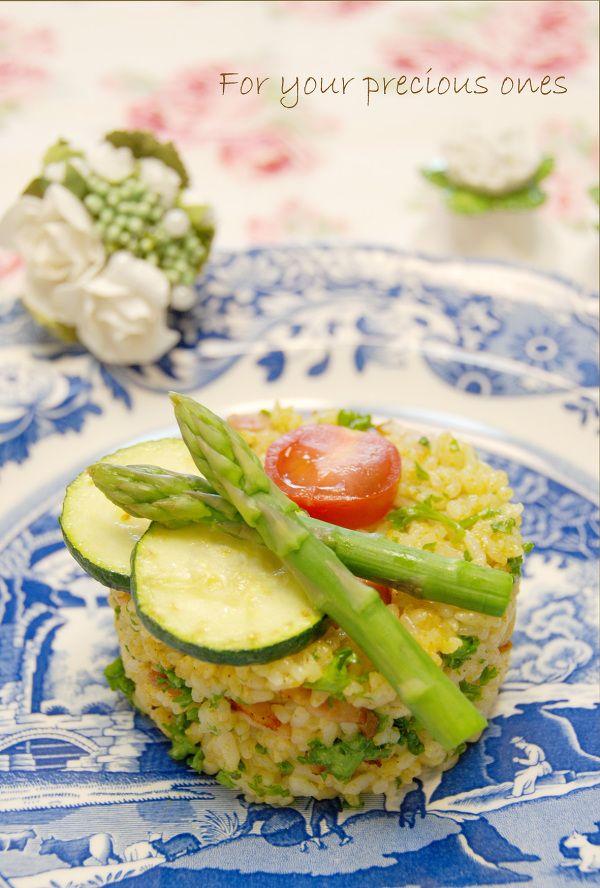 彩り野菜の簡単カレーピラフ by こゆり(このはなゆり) | レシピ ...