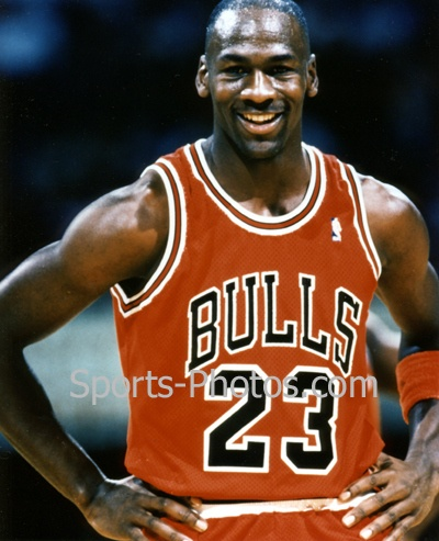 Michael Jordan is one of the great athletes of all time.