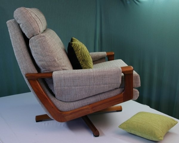 re-upholstered Tessa T21 chair