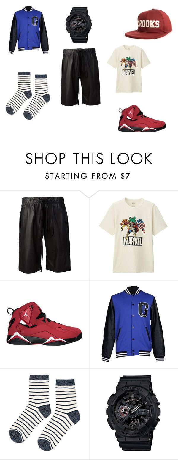 """Untitled #22"" by clarairawan on Polyvore featuring Vera Wang, Uniqlo, NIKE, Gaëlle Bonheur, Accessorize, G-Shock and Crooks & Castles"