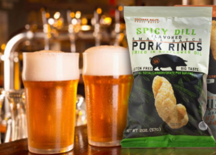 Let's raise our glasses together and talk about #beer and food pairings on #AmericanBeerDay! Just remember to eat and drink responsibly.  . . . #Snacks #Protein #Foodie #CraftBeer #FitFoodies #PorkRind #PorkRinds #Fun #Delicious #Snack #Workout #PorkRindAppreciationMonth #GridironGroovin #Touchdown #Contest #Win #Football #SuperBowl #BigGame