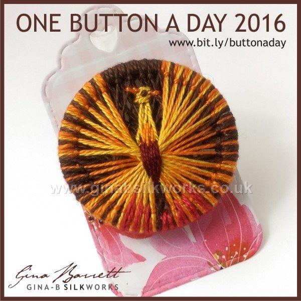 Day 171: Phoenix #onebuttonaday by Gina Barrett