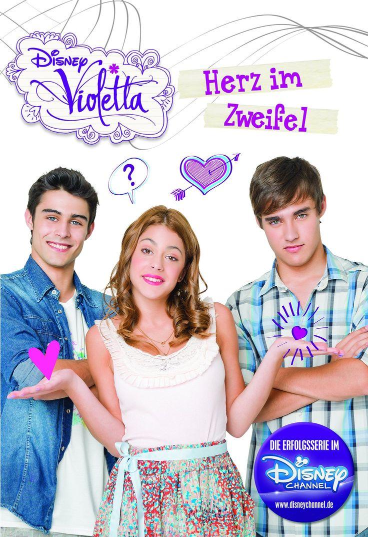 Violetta: Herz im Zweifel Basierend auf der TV-Serie: Amazon.de: Parragon: Bücher