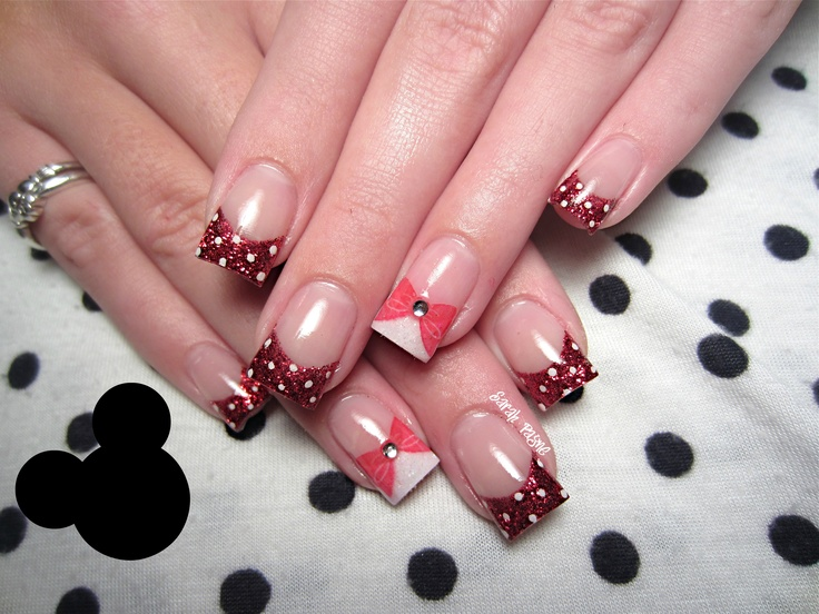 102 best Minnie Mouse nails images on Pinterest | Disney nails, Nail ...