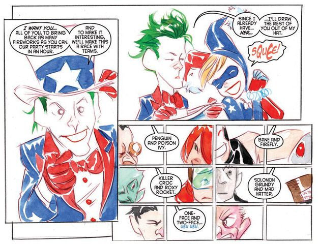 Batman Bad Guys Are Planning An Explosive 4th Of July page 2