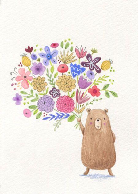 Lucy Barnard - Bear Flowers