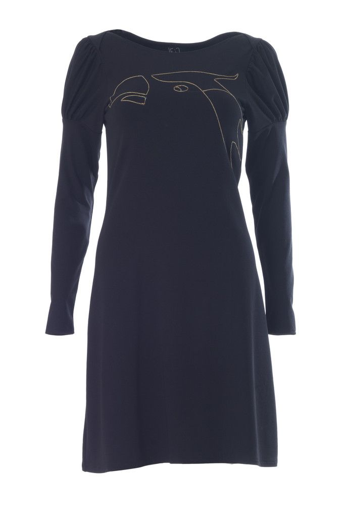 Weiz black ara dress DKK 950,- LOVE birds <3