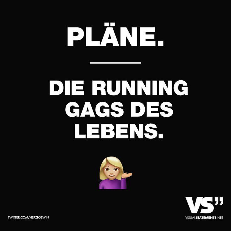 Pläne. Die Running Gags des Lebens
