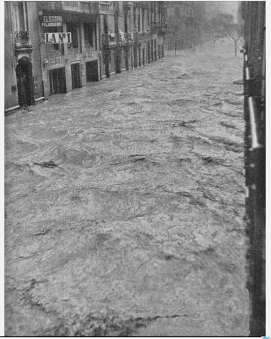 Riada de Valencia, 1957.