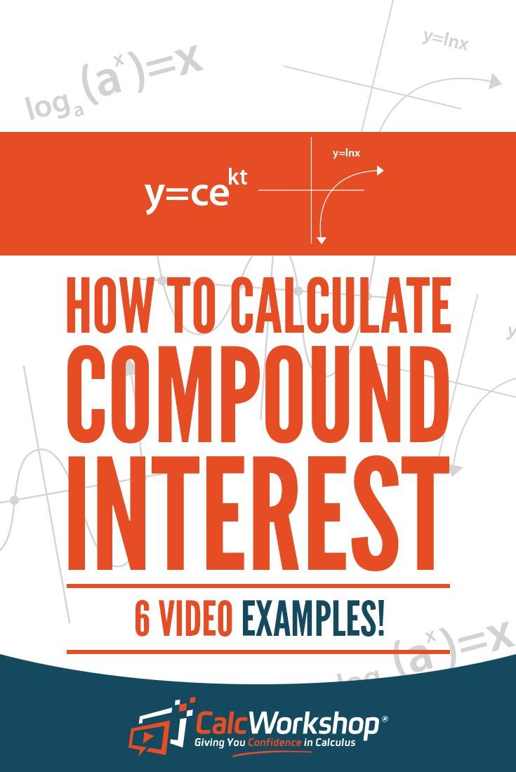Compound Interest - POWERFUL video lesson on calculating compound interest.  With 6 examples, you'll have everything you need to score well in your next quiz or test.  Terrific for new teachers too.  Excellent topic for high school and middle school math courses.  Learn the definitions and how to work these types of problems. #homeschooling #math