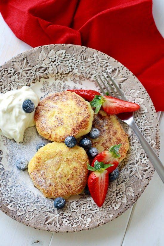 Farmers cheese breakfast fritters @thecoffee-break.com