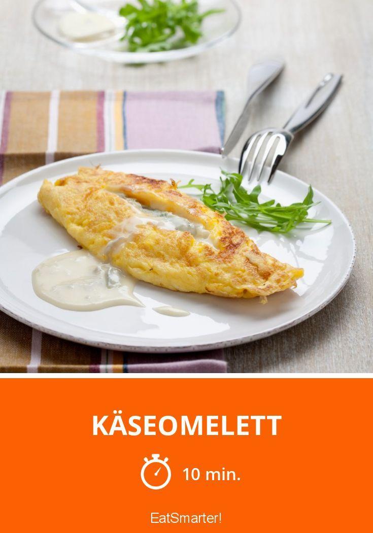Käseomelett - smarter - Zeit: 10 Min. | eatsmarter.de