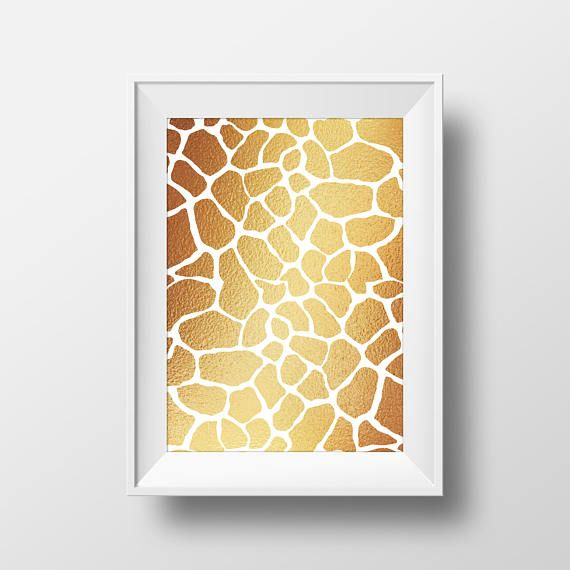 122 best Beautiful Wall Art images on Pinterest | Gold foil, Animal ...
