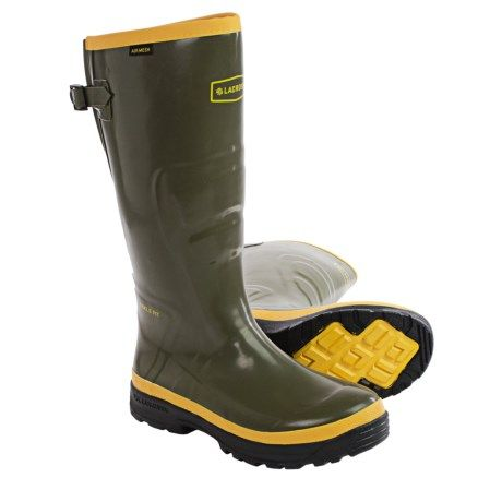 "LaCrosse SPOG 16"" Rubber Work Boots - Waterproof, Plain Toe (For Men))"