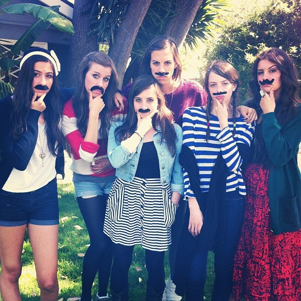 Cimorelli!!!! Never heard of them? Check out their YouTube channel- cimorellitheband
