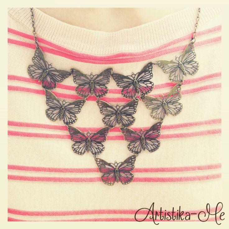 Collana mille farfalle!!!