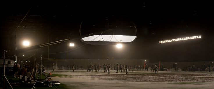 Our Tube is pictured here lighting the area. For more info visit www.airstarfilm.com