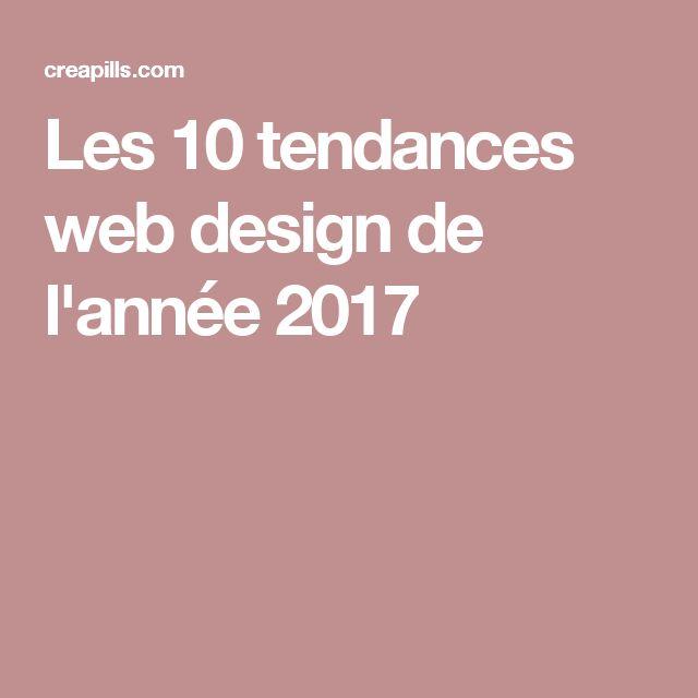 Les 10 tendances web design de l'année 2017