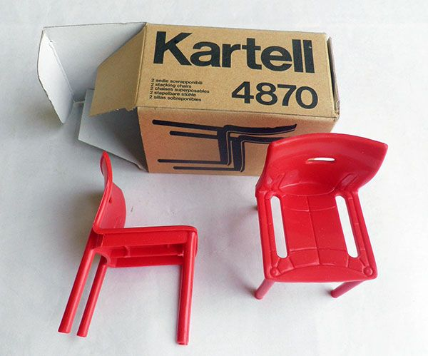 Anna Castelli Ferrieri - chair 4870 - kartell - plastic