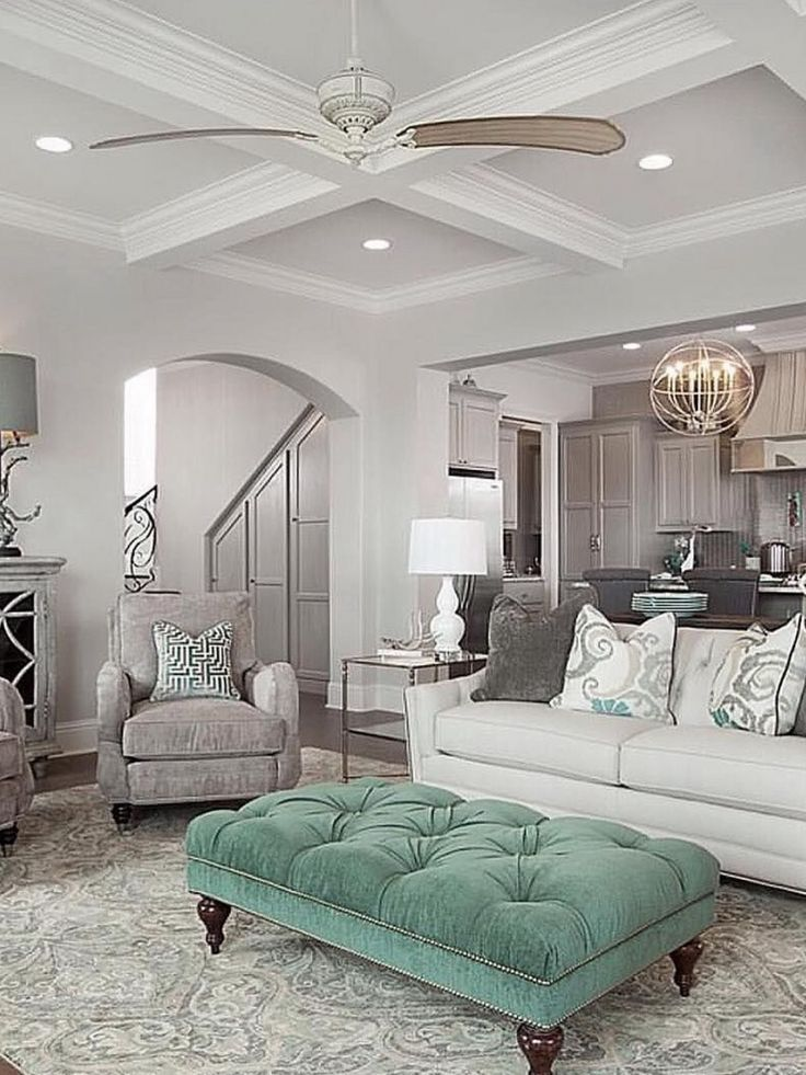 Beautiful pop of color from McLain Homes