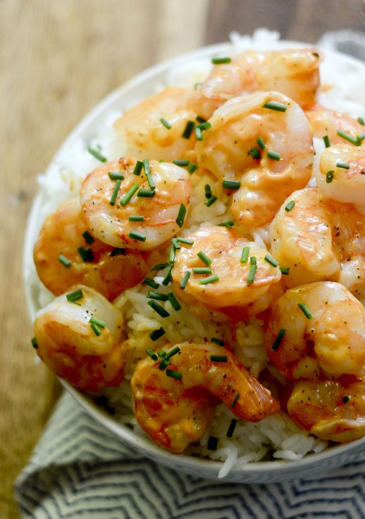 Weight Watcher Recipes- Skinny Bang Bang Shrimp - Recipe Diaries #shrimp