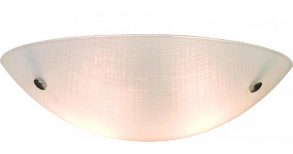 Curved Linen Glass Bowl Flush Mount by Artcraft | Montreal Lighting & Hardware #lighting #'éclairage