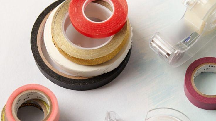 Creativebug - Artigianato Corsi e seminari - come utilizzare i vari tipi di nastro adesivo