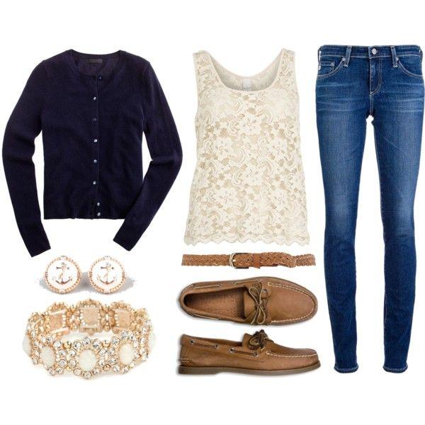 Everyday Glam; Navy Cardigan Entry #1