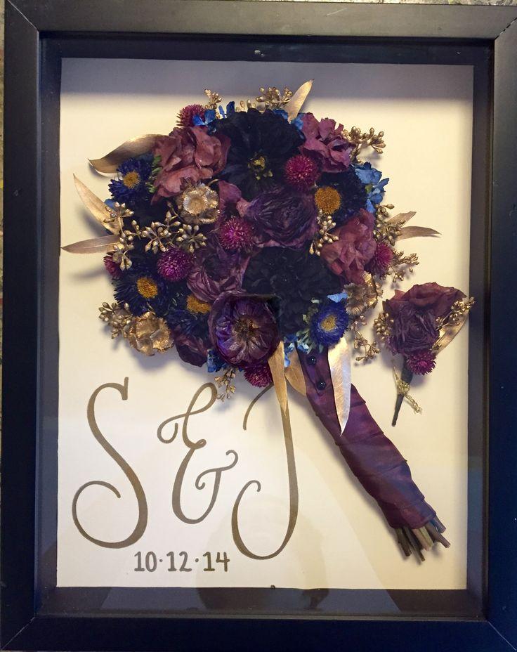 Preserve your wedding bouquet with Leigh Florist! #BouquetPreservation…