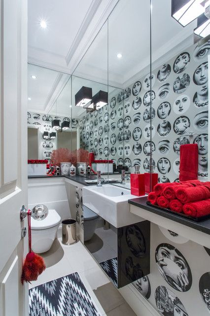 Make an impact in your downstairs loo with our fabulous ideas!